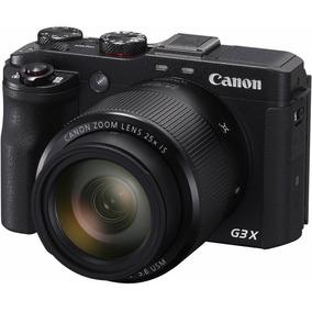 Câmera Digital Canon Powershot G3x 20.2mp Fhd Wifi Nfc 25x