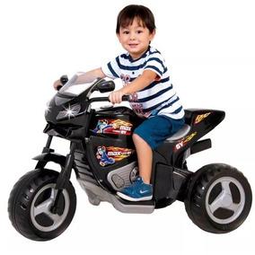 Mini Moto Eletrica Infantil Menino Max Turbo V6 Frete Grátis