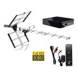 Kit Tv Digital Tda Antena + Decodificador Full Hd Premium