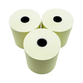Bobina 57x40, Papel Térmico Amarelo - Caixa C/ 30
