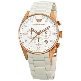 c5f5cd13af3 Relógio Empório Armani Ar5919 Branco E Rose Gold - Relógios De Pulso ...