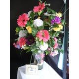 Arreglos Florales Con Flores Artificiales Varias