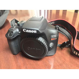 Cámara Canon Eos Rebel T6 18mp