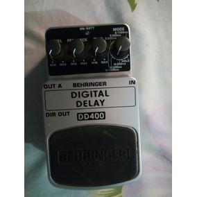 Pedal Para Guitarra Behringer D400 Delay