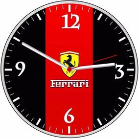 7d7a008bb74 Relogio De Parede Ferrari - Relógios no Mercado Livre Brasil