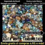 Cuarzo Trc23 Agata Mixta Chica Tamborileada Por Kg
