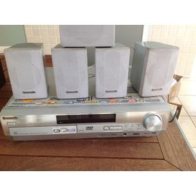 Dvd Home Theater Panasonic Sa-ht75 Carrossel 5 Disco Defeito