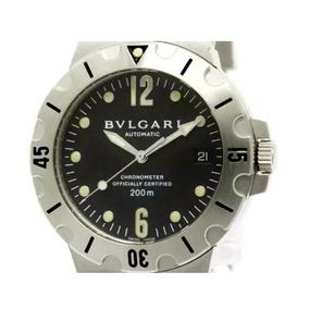 13fbfa903dd Relogio Bvlgari Chronograph Sd38s L2161 Masculino - Relógios De ...