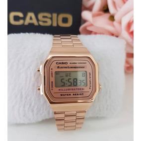 f9409cb1ed1 Relogio Cassio Rose A168 - Relógios no Mercado Livre Brasil