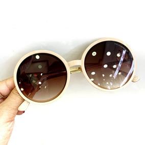 6738c007080ff Oculos De Sol Feminino Bege Chloe - Óculos no Mercado Livre Brasil