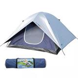 Barraca Camping Luna Para 4 Pessoas 009037 Mor