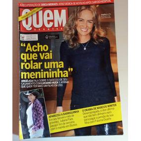 Revista Quem Acontece Nº 507 - Maio 2010 - Angélica