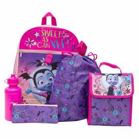Vampirina Disney Store Mochila Backpack Lonchera Lapicera