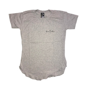 Camiseta Longline Oversize Importada Masculina Gratidao