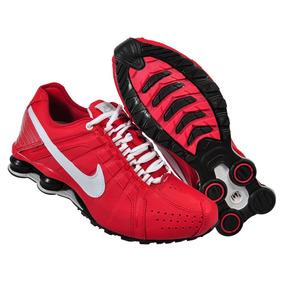 Tenis Nike Shox Junior Vermelho - Tênis no Mercado Livre Brasil 01ade77857150
