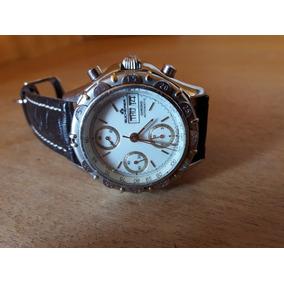92fb7fff894 Bucherer Chronograph Automatic Valjoux 7750 Swiss Made Raro! R  2.390