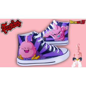 separation shoes b236f dcdcd Tenis Pintados A Mano Dragon Ball Z Majin Boo
