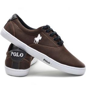 Tênis Original Polo Plus Couro Casual Promoção Original! a2e02a586cb
