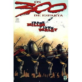 Os 300 De Esparta Hq - Série Completa (5 Vols) + Postal
