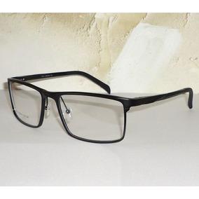 Armação Em Alumínio Para Óculos De Grau Executivo Geek Nerd 7c16a02f28