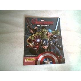 Revista De Figurinhas - Marvel - Vingadores