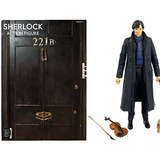 Figura De Acción De Escala Sherlock De 5 Pulgadas!