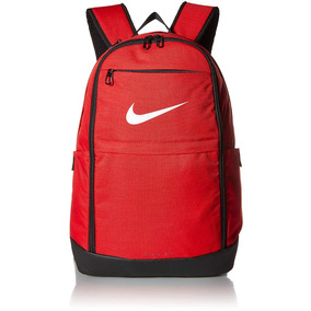 b370f24fb3a25 Mochilas Escolares Nike Roja Unisex Grande Laptop Original