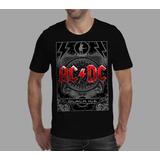 Camiseta Acdc - Preta