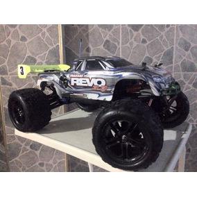 Carro Traxxas Revo Motor O.s 21 Con Nitro Werck Y Accesorios