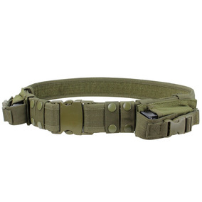 Cinturon Tactico Militar Camping Con Bolsas +envio Gratis