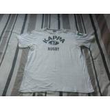 Camisa Rugby Kappa - Branca - Tam. Gg