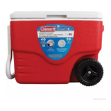 Caixa Térmica Cooler 40qt - 38 Litros Com Rodas Coleman