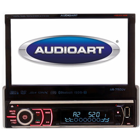 Dvd Retrátil Audioart Ar-750dv Bluetooth Tv Digital 7 Pol