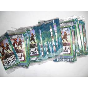 Cartas Fortnite - 10 Pacotes Com 4 Unidades Cada