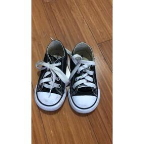 zapatillas converse negras niña