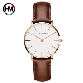 Reloj Casual Elegante De Moda Dw Envio Gratis Cafe