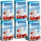 6 Litros Creme Chantilly Fleischmann Val: 09/02/19