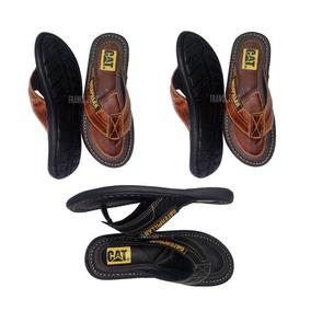 bfca6ae55c Chinelo Masculino De Dedo Em Couro - Sapatos no Mercado Livre Brasil