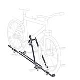 Suporte De Bicicleta P/ Parati Vw - Apr071128a