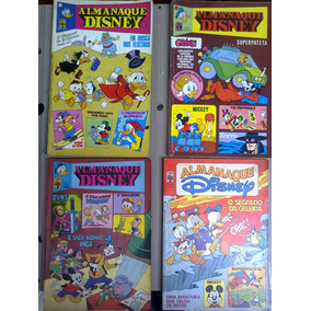Hq Lote Almanaque Disney - Nrs. 33, 50, 106, 131,133,139,141