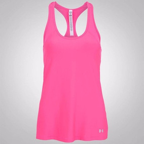 Camiseta Regata Under Armour Hg Alpha - Rosa - Feminina 224f2463305