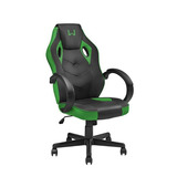 Cadeira Gamer Giratória Multilaser Warrior Verde