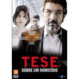 Dvd - Tese Sobre Um Homicídio - ( Tesis Sobre Un Homicidio )