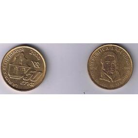 Moneda 50 Centavos San Martin Año 2000 Sin Circular