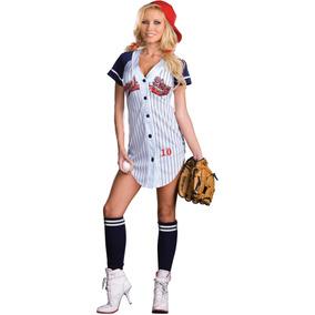 Disfraz Béisbol Mujer en Mercado Libre México 2e6137b6000