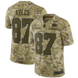 56367aebed Camisa Nfl Kansas City Chiefs 2 Futebol Americano  87 Kelce