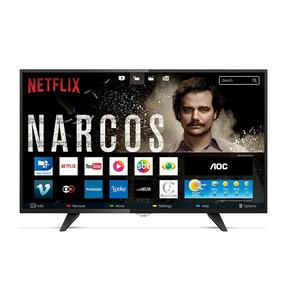 Smart Tv Led 43 Aoc Le43s5970s Full Hd 2 Usb 3 Hdmi Netflix