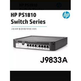 Switch Hp Ps1810-8g - J9833a Como Nuevo