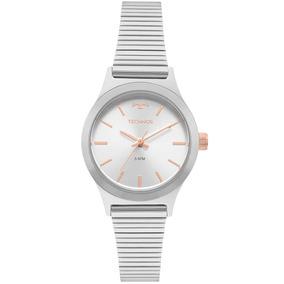 Relógio Feminino Technos Prata E Rose - Relógios De Pulso no Mercado ... 97907b3976