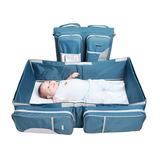 Bolso Cuna Y Pañalera 3 X 1 Para Bebes